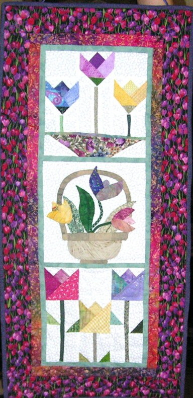 2012 Quilt Show wall hanging